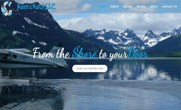 Seafood Reseller Website